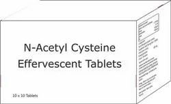 N Acetyl L Cysteine Effervescent Tablets 600 Mg