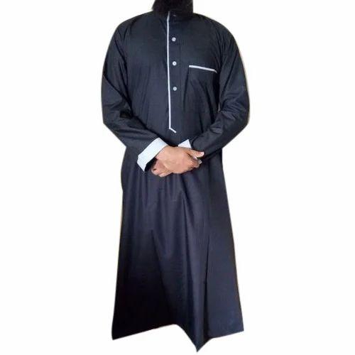 74d7e330698b Men Cotton Full Sleeve Thobe, Size: M - XXL, Rs 600 /piece   ID ...