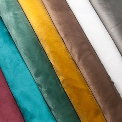 D DECORE 100 % polyester Upholstery Velvet Fabric