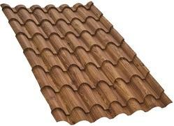 Walnut Wood Finish Natura Eurotile Roofing Sheet