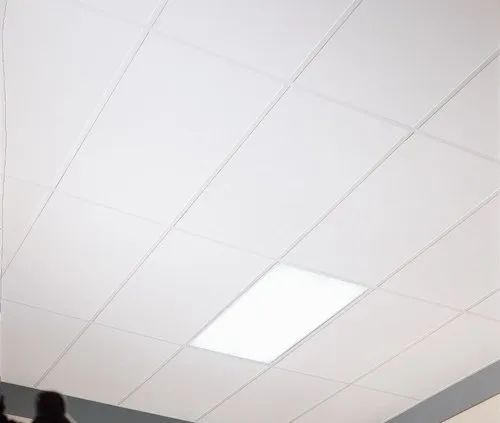 Gypsum Mineral and Soft Fiber Ceiling
