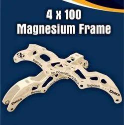 4 x 100 Magnesium Inline Skate Frame