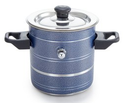 Steel Milk Boiler(Blue)