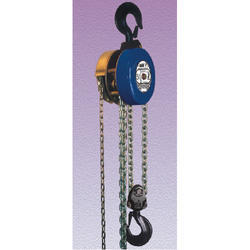 Model P Triple Spur Gear Chain Pulley Block