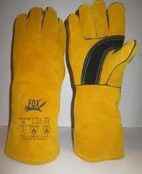 Winter Weding Leahter Gloves
