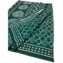 Party Wear Ladies Printed Chanderi Cotton Saree, 6.5 Metre, With Blouse Piece