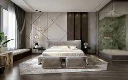 Master Bedroom, Work Provided: Wood Work & Furniture