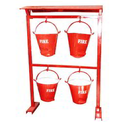 Fire Bucket Stand Without Canopee
