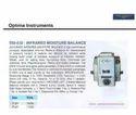 Infrared Moisture Balance