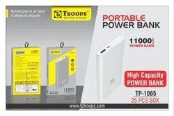 Troops Tp-1065 11000mah Slim Power Bank Metal