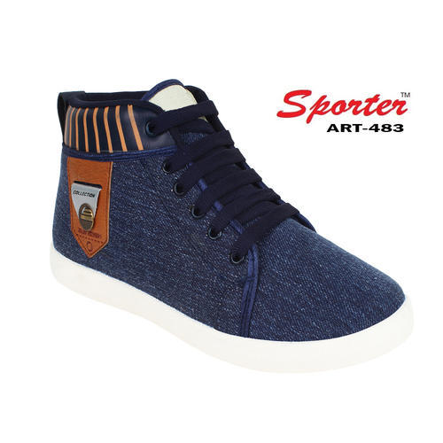 e2213c8ffc31 Sporter Canvas Men Blue 483 Sneaker Casual Shoes