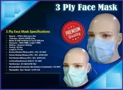 3 PLY PREMIUM QUALITY SURGICAL MASK