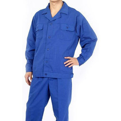 Blue Polyester Worker Uniform, Size: Large And XL