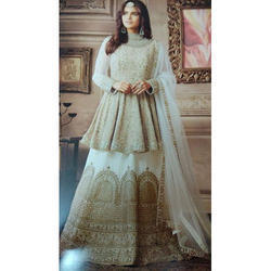 Georgette Embroidered Designer Anarkali Suits