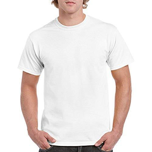 91fa3a782 Men Cotton Blank T-Shirts, Size: Free Size, Rs 95 /piece | ID ...