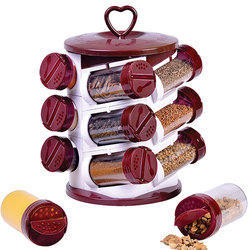 12 Pieces Spice Jar Set