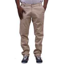Casual Mens Cotton Trouser Beige Shade, 4