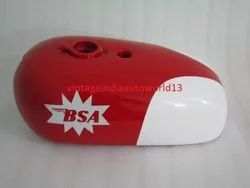 New Bsa Spitfire Hornet 2 Gallon Red And White Painted Petrol Tank