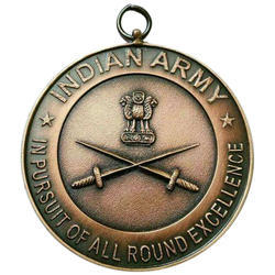 Army Round Bronze Medal