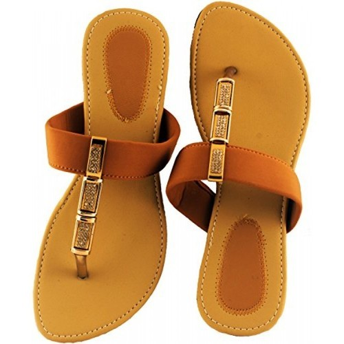 Ladies Leather Casual Sandal, Size: 4 to 8