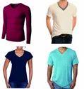 Multicolor Xxl V Neck T Shirts