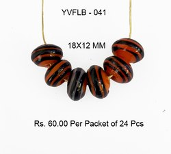 Lampwork Fancy Glass Beads - YVFLB-041