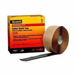 Black 3M Scotch 2228 Rubber Mastic Tape