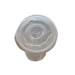 PET Disposable Glass With Cap