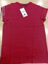 Crush Lycra Cotton T Shirt