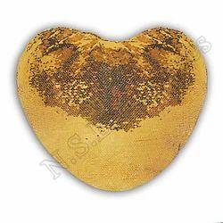 心形金色P-43魔术枕,形状:心形