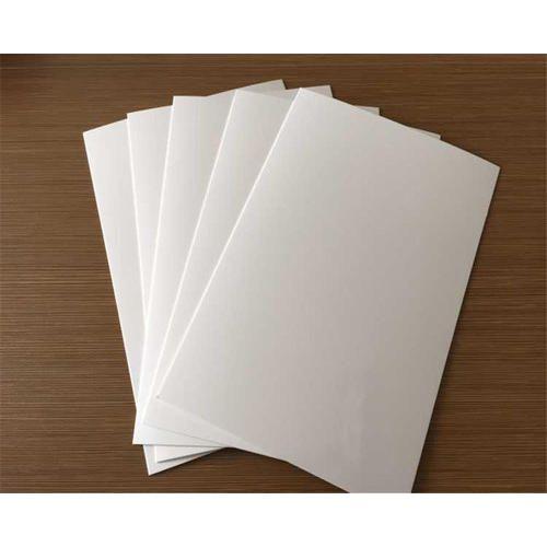 White Pvc Board Size 8 X 4 Feet Rs 30 Square Feet