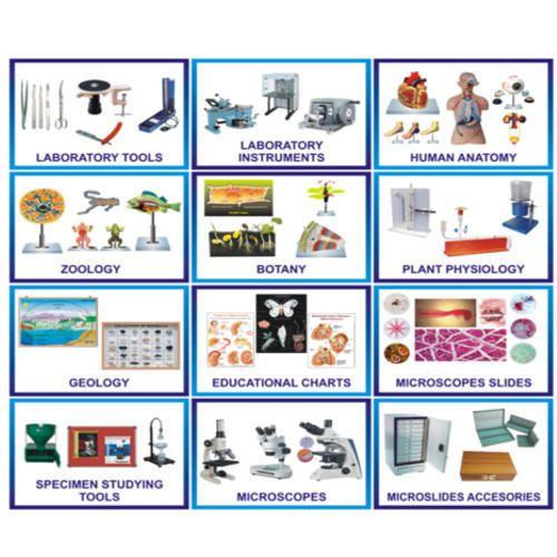 School Science Laboratory Equipment - School Physics Lab