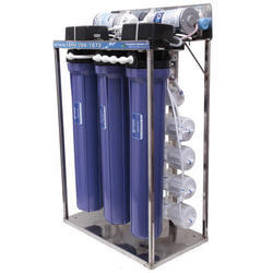 50 LPH Commercial RO System, Number Of Membranes In Ro: 4