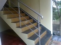 Om Silver Stainless Steel Pipe Railing