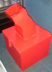 Industrial Scrap Box