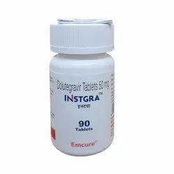 Instgra 90 Tablets ( Dolutegravir 50mg )