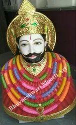Marble Khatu Shyam Ji Statue
