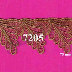 Designer Fancy Gold Zari Lace