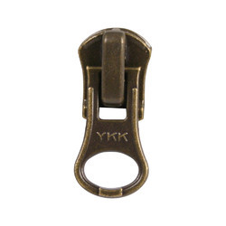 ANT. BRASS Zipper Sliders THUMBH PULLER