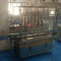 6 Head Automatic Digital Liquid Filling Machine