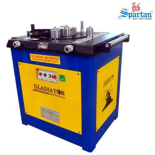 Spartan Electric Bar Bending Machines, Bar Dimensions: 8