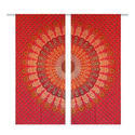 Mandala Curtain Indian Drape