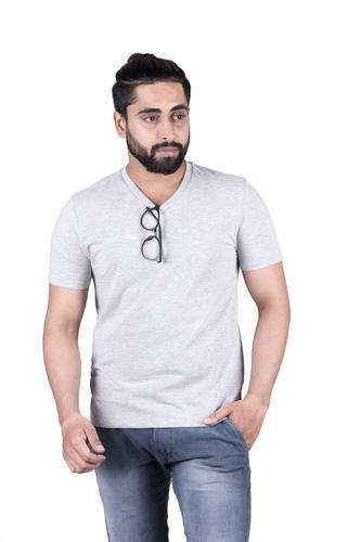 Kraft Panda Plain V Neck T Shirt