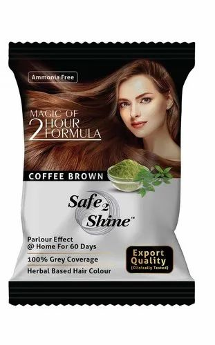 Coffee Brown Brown Hair Dye, Packaging Size: 15 Gm