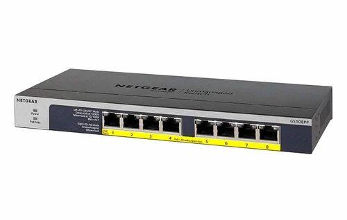 Netgear 8 Port Gigabit Networking Switch Gs108pp (8 Poe)