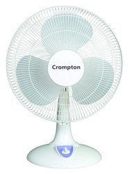 50 Watts Plastic Crompton High Flo Eva Table Fan, Size: Medium