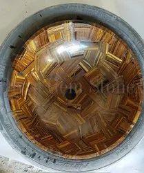 Golden Tiger Eye Stone Wash Basin
