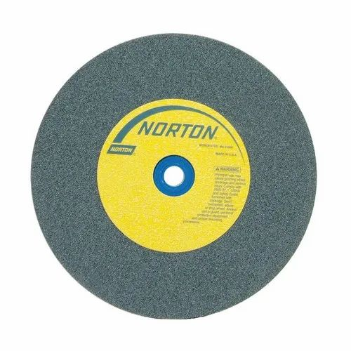 Round Norton V538 Carbide Grinding Wheel, Thickness Of Wheel: 25 Mm
