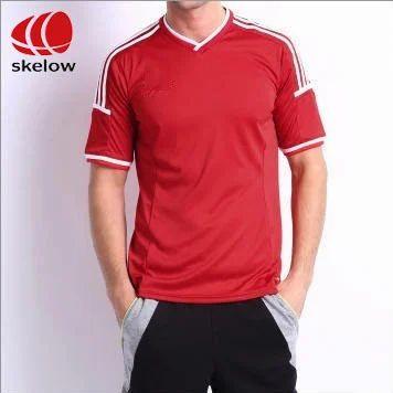 6bed16f04b78 Men's Designer V Neck Plain T-Shirts, Rs 180 /piece, Skelow Sports ...
