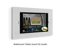 Wall Mounted Tablet Secure Anti Theft Enclosure
